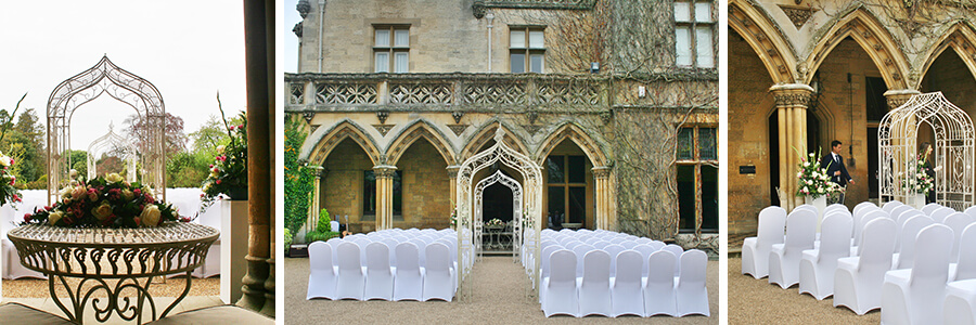 The Arches at Manor By The Lake for an Outdoor Wedding