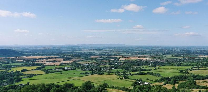 Cheltenham from Crickley Hill