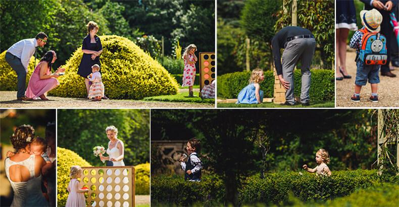 outdoor weddings with kids
