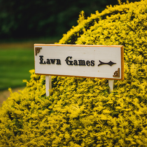 Live Garden Games at Manor By The Lake
